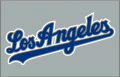 Los Angeles Dodgers 2002-2006 Jersey Logo iron on sticker