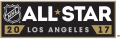 NHL All-Star Game 2016-2017 Wordmark Logo iron on sticker