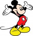 Mickey Mouse Logo 26 decal sticker