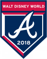 Atlanta Braves 2018 Event Logo decal sticker