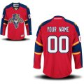 Florida Panthers Custom Letter and Number Kits for Premire Home Jersey
