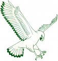 NC-Wilmington Seahawks 1977-1985 Primary Logo decal sticker
