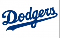 Los Angeles Dodgers 2003-Pres Jersey Logo iron on sticker
