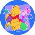 Disney Piglet Logo 21 iron on sticker