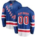 New York Rangers Custom Letter and Number Kits for Blue Home Jersey