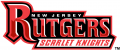 Rutgers Scarlet Knights 1995-Pres Wordmark Logo 01 decal sticker
