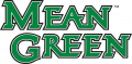 North Texas Mean Green 2005-Pres Wordmark Logo 01 iron on sticker
