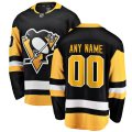 Pittsburgh Penguins adidas Custom Letter and Number Kits for Black Home Jersey