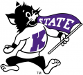 Kansas State Wildcats 1989-Pres Mascot Logo iron on sticker