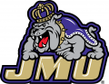 James Madison Dukes 2013-2016 Primary Logo iron on sticker