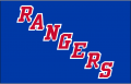 New York Rangers 1999 00-Pres Jersey Logo decal sticker