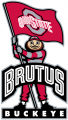 Ohio State Buckeyes 2003-2012 Mascot Logo 08 decal sticker
