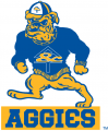 North Carolina A&T Aggies 1988-2005 Primary Logo decal sticker