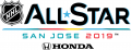 NHL All-Star Game 2018-2019 Wordmark Logo iron on sticker