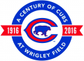 Chicago Cubs 2016 Stadium Logo iron on sticker