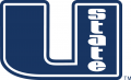 Utah State Aggies 2001-2011 Primary Logo iron on sticker