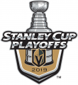 Vegas Golden Knights 2018 19 Event Logo decal sticker
