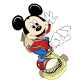 Mickey Mouse Logo 18 decal sticker