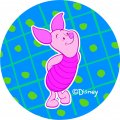 Disney Piglet Logo 17 iron on sticker