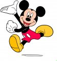 Mickey Mouse Logo 11 decal sticker