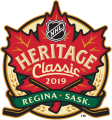 NHL Heritage Classic 2019-2020 Logo decal sticker