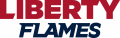 Liberty Flames 2013-Pres Wordmark Logo 01 iron on sticker