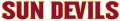 Arizona State Sun Devils 2011-Pres Wordmark Logo 13 iron on sticker