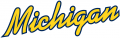 Michigan Wolverines 1996-Pres Wordmark Logo 06 decal sticker
