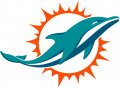 Miami Dolphins 2018-Pres Primary Logo decal sticker