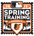 Baltimore Orioles 2015 Event Logo iron on sticker