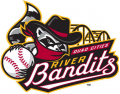 Quad Cities River Bandits 2014-Pres Primary Logo decal sticker