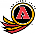 San Diego State Aztecs 1997-2001 Alternate Logo 02 decal sticker