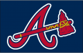 Atlanta Braves 2007-2017 Cap Logo decal sticker