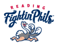 Reading Fightin Phils 2013-Pres Primary Logo decal sticker