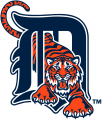Detroit Tigers 1994-2005 Primary Logo 02 decal sticker