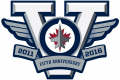 Winnipeg Jets 2015 16 Anniversary Logo decal sticker