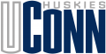 UConn Huskies 1996-2012 Wordmark Logo iron on sticker