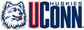 UConn Huskies 1996-2012 Wordmark Logo 01 iron on sticker