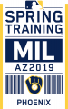 Milwaukee Brewers 2019 Event Logo decal sticker