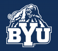 Brigham Young Cougars 2005-Pres Alternate Logo 03 iron on sticker