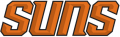 Phoenix Suns 2012-2013 Pres Wordmark Logo 2 decal sticker