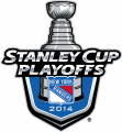 New York Rangers 2013 14 Event Logo decal sticker
