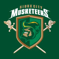 Sioux City Musketeers 2010 11-Pres Alternate Logo iron on sticker