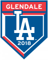 Los Angeles Dodgers 2018 Event Logo iron on sticker