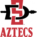 San Diego State Aztecs 2013-Pres Alternate Logo 01 decal sticker