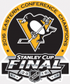 Pittsburgh Penguins 2015 16 Champion Logo 02 decal sticker