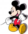 Mickey Mouse Logo 21 decal sticker