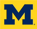 Michigan Wolverines 1996-Pres Alternate Logo 02 decal sticker