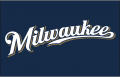 Milwaukee Brewers 2010-2015 Jersey Logo decal sticker