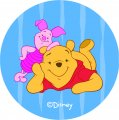 Disney Piglet Logo 07 iron on sticker